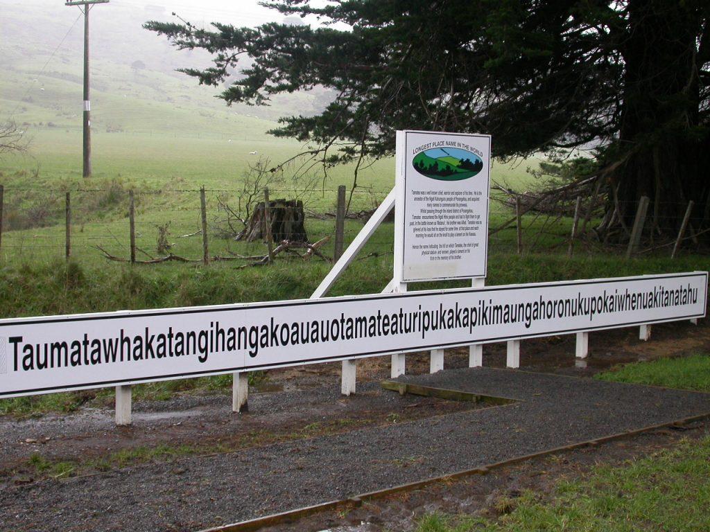 El lugar en Nueva Zelanda con el nombre más largo del mundo